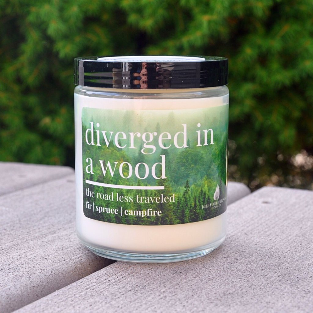 Diverged in a Wood, KYD Candle Co.